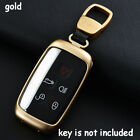 Aluminium Alloy Remote Key Case 5 Buttons Cover For Land Rover Lr4 Range Rover