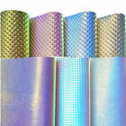 Assorted Set Sparkle Glitter Vinyl Fabric Leather Material Holographic Bow Craft