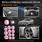 For Bmw All Emblem Overlay Sticker Decal Complete Set Pack Glossy Gloss Finish