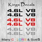 Ford Mustang 4.6l V8 Hood Scoop Decal Set 99-04 05-09 Sticker F150 Many Colors