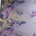 Colourful Pure Silk Position Digital Printed Chiffon Fabric 4 Colours Width 53