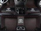 For Toyota Tundra 2007-2019 Leather Car Floor Mats Waterproof Mat