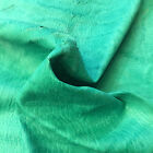 Sale Blue Green Leather Hide Genuine Tanned Material Skins Diy Craft Fabric F962