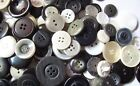 Black White And Gray Sewing Button Mix In Bulk Lots Of 100 200 300 400