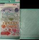 Recollections Color Splash Lot Stamp Stencil Set To Pick From