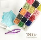 Water Beads Toys Sticky Perler Pegboard Set Fuse Jigsaw Puzzle Water Bead Bond