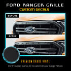 Front Grille Letters Insert Vinyl Decal Fit New 2019 Ford Ranger - Flat Matte