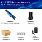 Electric Wrench Kit 38 Cordless 12v Ratchet Wrench Recharge Scaffolding 40mm