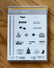 Stampin Up New Retired Clear Cling Mountphotopolymer Stamp Sets