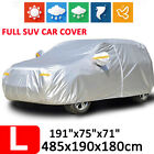 190t Suv Car Cover Waterproof Outdoor Breathable Rain Dust Resistant Protection