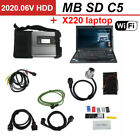 Mb Sd C5 Sd Compact 5 Star Diagnosis With Wifi For Cars And Truck Multi-language