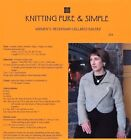 Knitting Pure Simple Patterns Baby-adult Cardigans Sweaters Jackets Vest