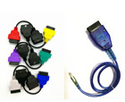 Fits Fiat Alfa Elm 327 Green Red Yellow Cables For Use With Multi Ecu Scan
