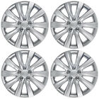 4pc Set Of 16 In Hubcaps Car Wheel Covers Tire Rim Hub Cap For Replacement