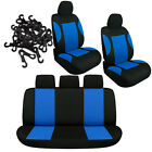Car Seat Covers Protector Universal Washable Head Rest Front Rear Seat 9pcs Set