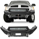 Rough Country Heavy Duty Front Rear Bumper W Leds Fits 13-18 Dodge Ram 1500