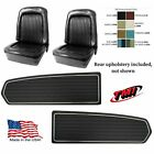 Upholstery Door Panel Set 1968 Mustang Fastback Seat Cover Tmi - Any Color