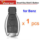 Smart Key Shell 3 Button For Mercedes Benz With Logo And Vvdi Be Key Perfectly