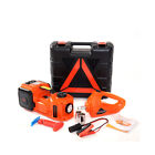 5t Car Jack Electric Hydraulic Jack Tire Lifting 45cm Electric Wrench Inflator