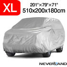 M-xxl 4m-5.4m Suv Car Cover Universal Polyester Outdoor Indoor Dust Protection