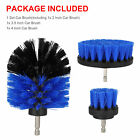 126x Drill Brush Set Power Scrubber Attachments For Car Bathroom Grout Cleaning