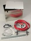 Taylor 48101 Aluminum Battery Box Wcables