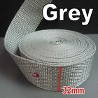 5 Yards Polypropylene Webbing Belting Fabric Tape Strapping 1.25 32mm Thick 1mm