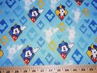 Mickey Mouse 4 Fabrics Sold Individually Not As A Group By The Half Yard