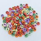100pcsset Mixed Wooden Alphabet Letter Spacer Cube Beads Craft Jewelry Diy 6mm