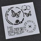 Various Pattern Spray Painted Stencils Template Wall Decor Drawing Diy Making
