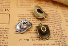 830pcs Antique Silver Western Cowboy Hat Jewelry Finding Charms Pendant 22x13mm