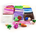 122432 Colorful Soft Polymer Plasticine Fimo Effect Clay Blocks Educational