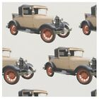 56 Cotton Ford Model A Classic Car Fabric