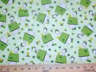 Peanuts Snoopy 8 Fabrics Sold Individually Not As A Group By The Half Yard