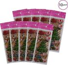 Holiday Christmas With Santa Claus Snowman Themed Planner Plastic Stickers 100