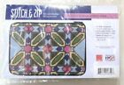 Alice Peterson Stitch Zip Cosmetic Purse Case Kit Needlepoint Canvas