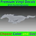 Ford Mustang - Pony Decal Sticker Ford 5.0 Gt Pony Emblem Badge 302 Racing Horse