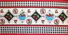 Choose One Mary Engelbreit Cotton Fabric Border Strips Cherries Or Check Bowls