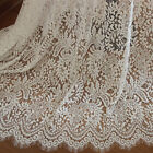 Embroidery Cotton Lace Trim Ribbon Fabric Tulle Mesh Craft Sewing Applique Us