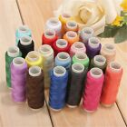 2448 Lot Spools Sewing Threads Polyester Assorted 200m Reel Cord String Us