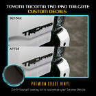 Decal Overlays Fit Trd Pro Emblem For 2015-2019 Toyota Tacoma - Chrome Mirror