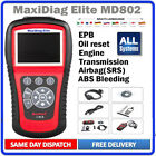 Launch X431 Crp123 Md802 Obd2 Diagnostic Tool Car Scanner Engine Abs Srs Epb Oil