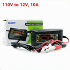 Automatic Car Battery Charger 12v 6a 10a For Lead Acid Lcd Display Fast Charging