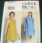 Vogue Pattern 9376 Misses Tilton Pullover Tunic And Dress Size 4-14 Or 16-26