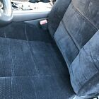 Le Front Pair Low Back 2 Bucket Seat Cover Set 10mm Deluxe Polyester Universal