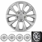 16 Hubcaps For Car Accessories Wheel Covers Replacement Tire Rim Replica 4-pack