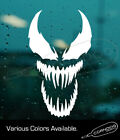 Venom Face Sticker Vinyl Decal Comic Spiderman Eddie Brock Hulk Marvel