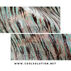 Embossed Leather Chateau Plated Turquoise Leather Sheets Embossed Sheets