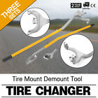 3pcs Tire Changer Tire Mount Demount Tool Tools Tubeless Truck 17.5 To 24