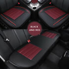 Luxury Universal Car Seat Cover Pu Leather Front Rear Back Seat Full Protector
